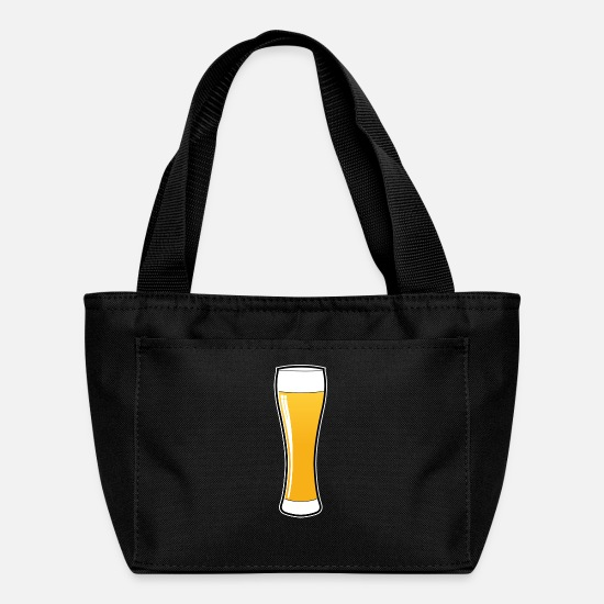 Kristal Bags & Backpacks - Beer glass - Beer Logo - Weissbier - Beer Mug - Lunch Bag black