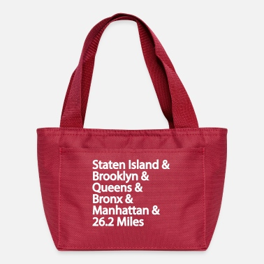 5 Boroughs 5 Borough NYC Marathon - Lunch Bag