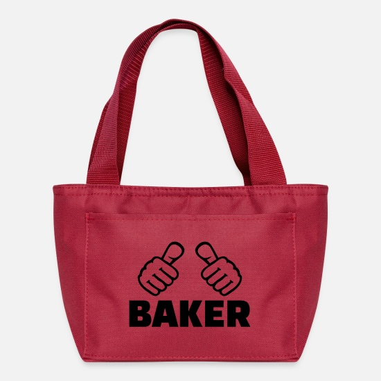 Finger Bags & Backpacks - Baker - Lunch Bag red