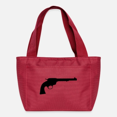 Revolver revolver silhouette - Lunch Bag