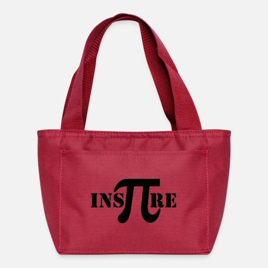 Mathematics Bags & Backpacks - Inspire Math - Lunch Box red