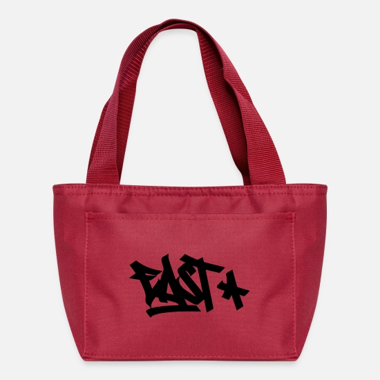 East Coast Bags & Backpacks - east tag - Lunch Bag red