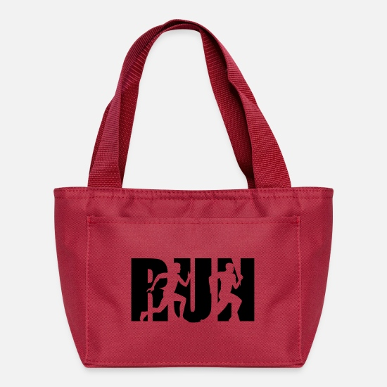 Run Bags & Backpacks - Run, Running, Runner - Lunch Box red