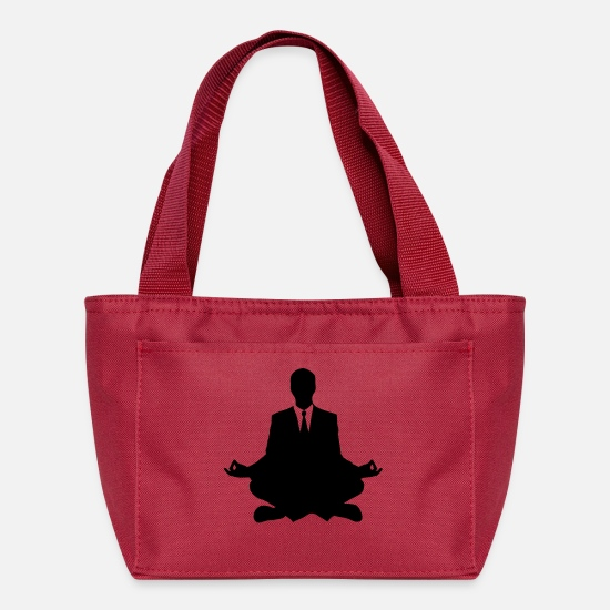 Stress Bags & Backpacks - meditate - Lunch Box red