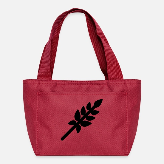 Grains Bags & Backpacks - Wheat - Lunch Bag red