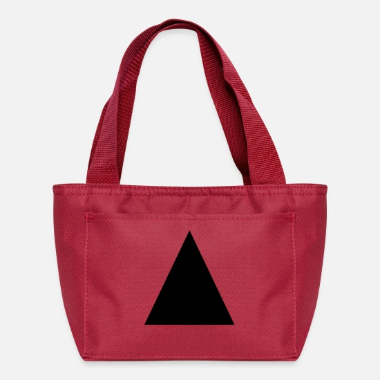 Shape Bags & Backpacks - Triangle - Lunch Box red