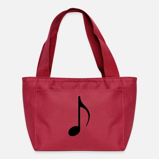 Key Bags & Backpacks - note - Lunch Bag red