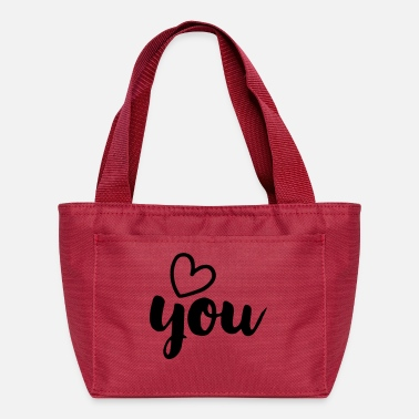 Love You LOVE YOU - Lunch Bag