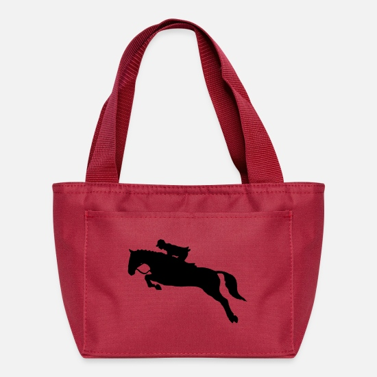 Mare Bags & Backpacks - reiten riding pferde horse knight reiter rider108 - Lunch Box red
