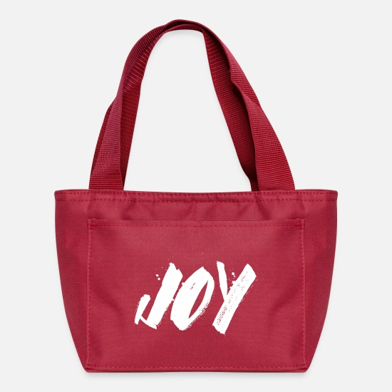 Joy Bags & Backpacks - Joy - Lunch Box red