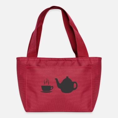 Bistro coffee pot and cup - Lunch Bag