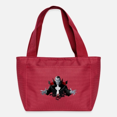Count Royal Count Dracula Vampire Monster Bat - Lunch Box
