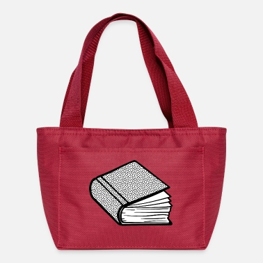 Edification book lineart - Lunch Bag