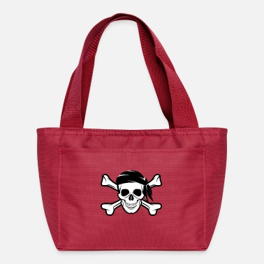 Bandera Pirate Skull Banderas - Lunch Bag