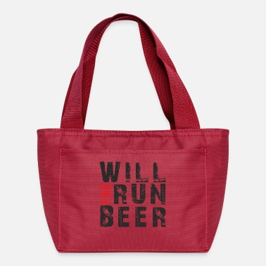 Will Run For Beer - Lunch Box