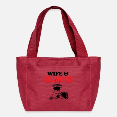 Grillmaster Wife and grillmaster - Lunch Bag