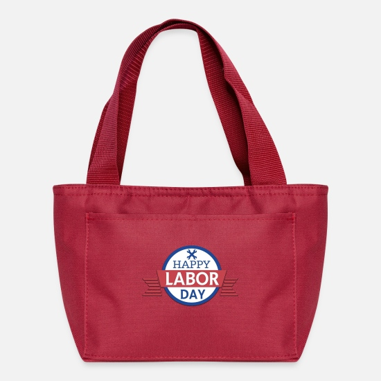 Usa Bags & Backpacks - Happy Labor Day! - Lunch Bag red