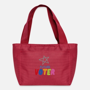 Anti Future Voter, My Generation is watching, Kids Vote - Lunch Bag