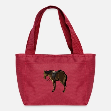 Saddle The Horse With A Saddle - Lunch Bag