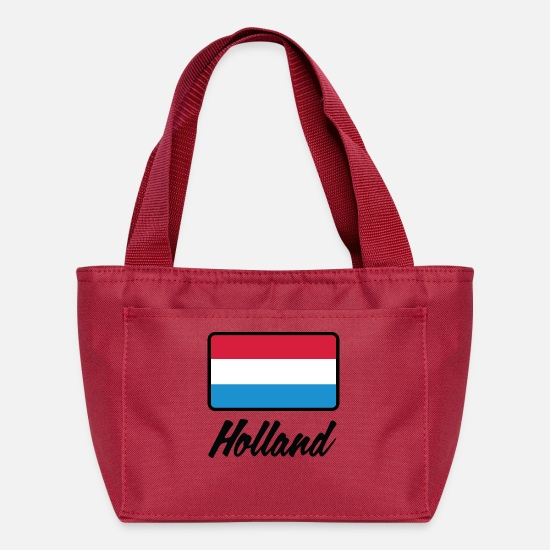 Frank Bags & Backpacks - National Flag Of Holland - Lunch Box red