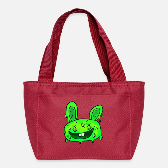 Music Bags & Backpacks - 5 steps' bunny - Lunch Bag red