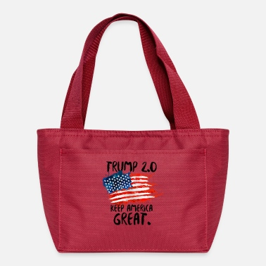 Pro Trump 2020 - Trump 2.0 KEEP AMERICA GREAT! - Lunch Box