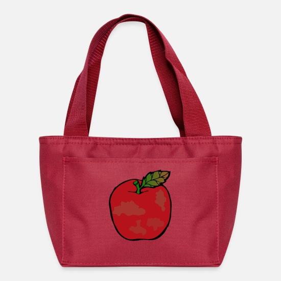 Big Bags & Backpacks - Rotten Apple - Lunch Box red