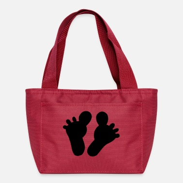 Feet feet - Lunch Bag