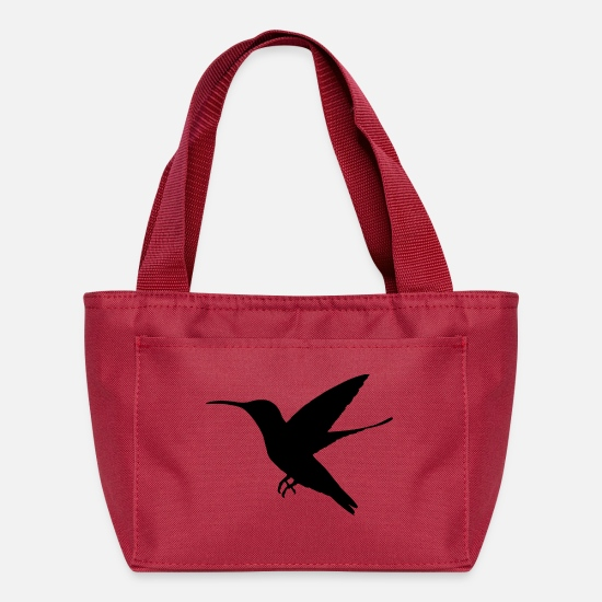 Birds Bags & Backpacks - bird - Lunch Box red