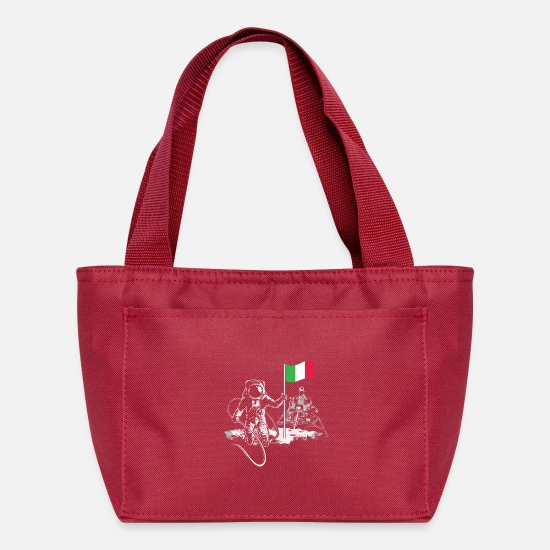 Italy Bags & Backpacks - Italy - Lunch Box red