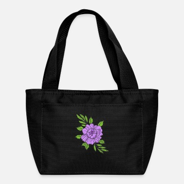 Violet Violet Flower - Lunch Bag