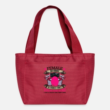 Mechanic mechanic funny sayings craftswoman gift - Lunch Box