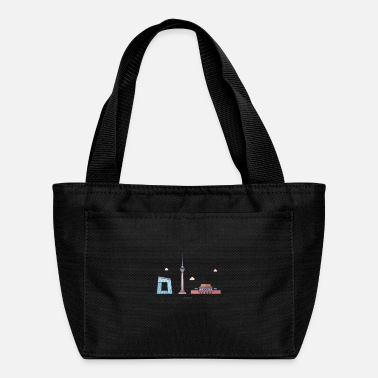Picture Beijing city skyline - Lunch Bag