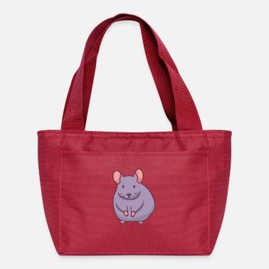 Mascot Gray Mouse - Lunch Bag