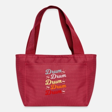 Loud Music Drum Drummer Gift - Lunch Bag