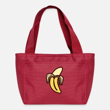 Opened Open banana - Lunch Bag