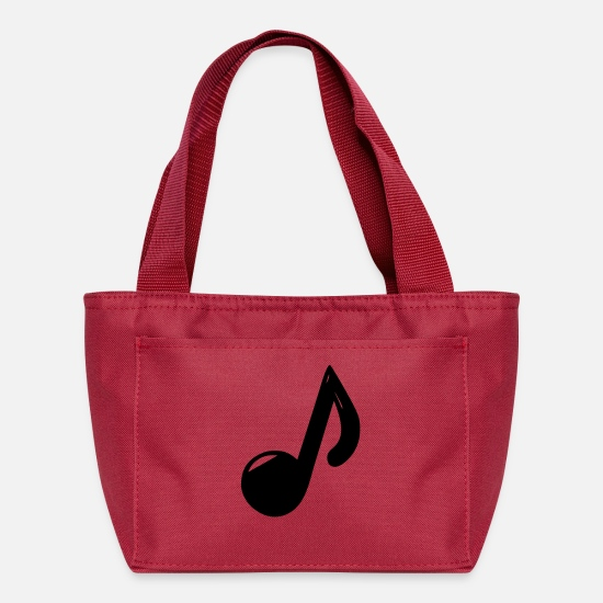 Mood Bags & Backpacks - note - Lunch Bag red