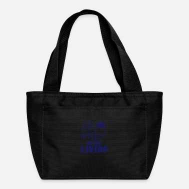 Mask Inpirational Gifts Life is on the Living Gift Idea - Lunch Bag
