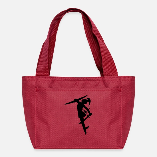 Greek Bags & Backpacks - Perseus Greek hero from mythology - Lunch Box red