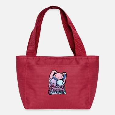 Against Bunnies Against Biphobia - Lunch Box