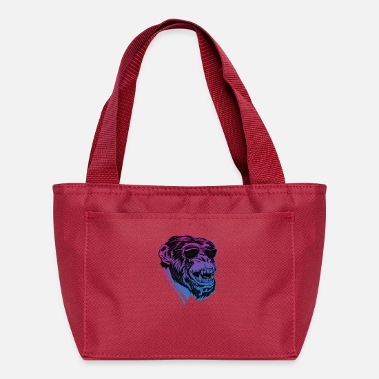 Game Bags & Backpacks - Shaded Ape - Lunch Bag red