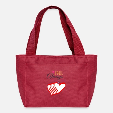 I Heart Valentines day tshirt gift for her or him. - Lunch Box