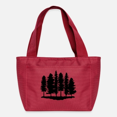 Trees Forest, Trees, Tree - Lunch Box