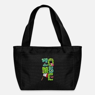 Font Zombie Font - Lunch Bag