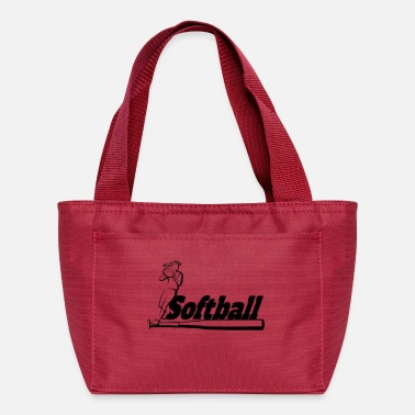 Softball Softball - Lunch Bag