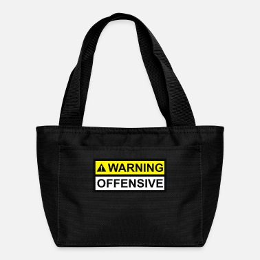 Offensive Warning Offensive - Lunch Bag