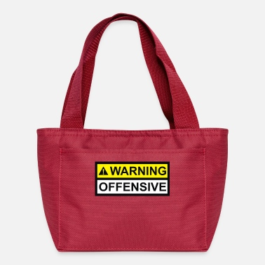 Offensive Warning Offensive - Lunch Box