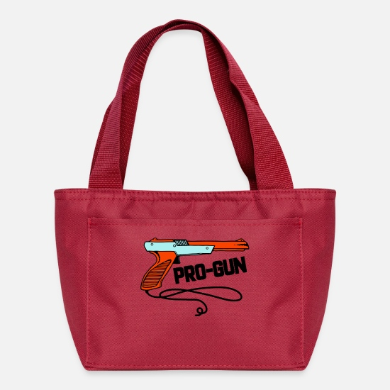 Production Year Bags & Backpacks - Pro Gun - Lunch Bag red