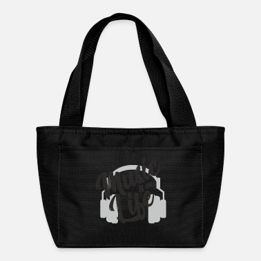 Music is my life - Rythm & Sound GIFT - Lunch Bag