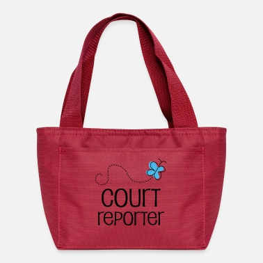 Court Court Reporter - Lunch Box